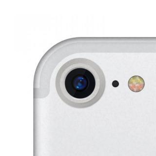 truffol カメラレンズ保護 クリーナー付き Aluminium Lens Guard シルバー iPhone 7
