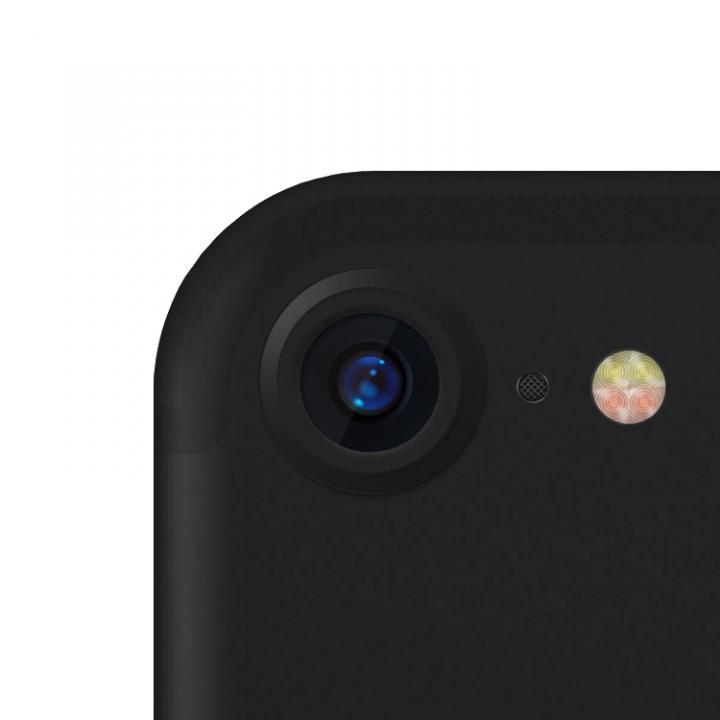 truffol カメラレンズ保護 クリーナー付き Aluminium Lens Guard マットブラック(ツヤ消し) iPhone 7_0