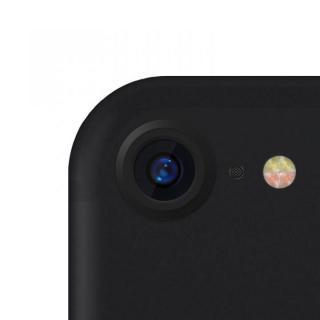 truffol カメラレンズ保護 クリーナー付き Aluminium Lens Guard マットブラック(ツヤ消し) iPhone 7