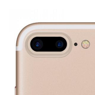 truffol カメラレンズ保護 クリーナー付き Aluminium Lens Guard ゴールド iPhone 7 Plus
