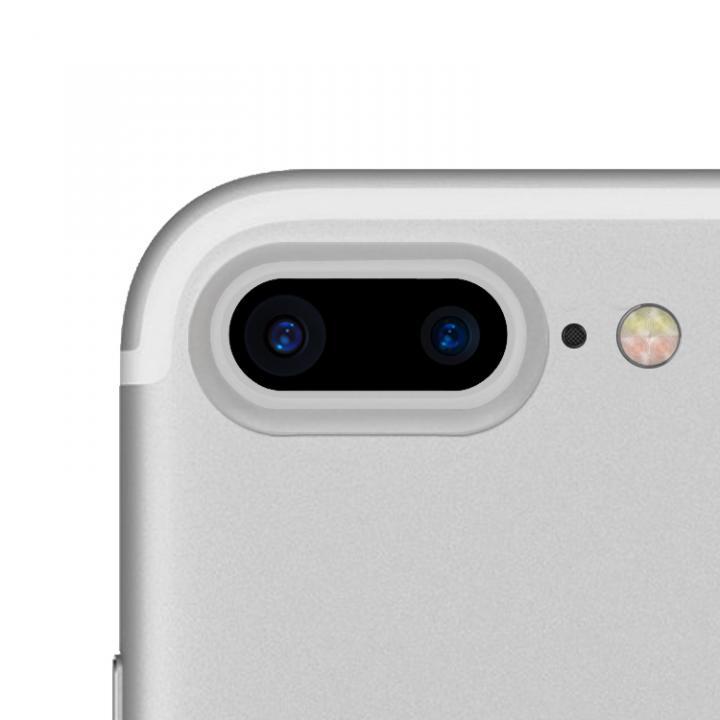 truffol カメラレンズ保護 クリーナー付き Aluminium Lens Guard シルバー iPhone 7 Plus_0