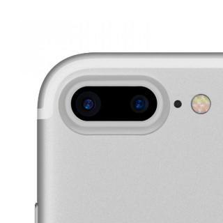 truffol カメラレンズ保護 クリーナー付き Aluminium Lens Guard シルバー iPhone 7 Plus