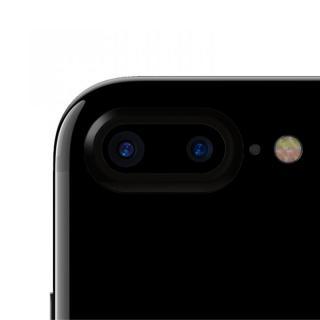 truffol カメラレンズ保護 クリーナー付き Aluminium Lens Guard ジェットブラック iPhone 7 Plus