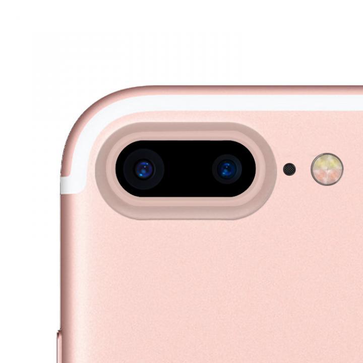truffol カメラレンズ保護 クリーナー付き Aluminium Lens Guard ローズゴールド iPhone 7 Plus