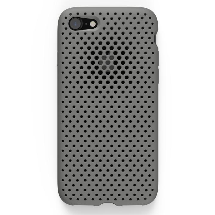 エラストマー AndMesh MESH CASE グレイ iPhone 7