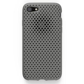 エラストマー AndMesh MESH CASE グレイ iPhone 7ケース