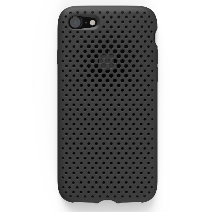 iPhone7 ケース エラストマー AndMesh MESH CASE ブラック iPhone 7ケース_0