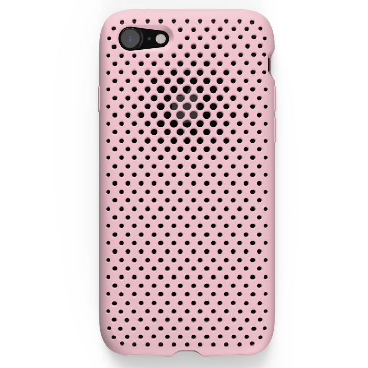 iPhone7 ケース エラストマー AndMesh MESH CASE ピンク iPhone 7ケース_0
