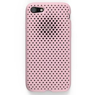 エラストマー AndMesh MESH CASE ピンク iPhone 7ケース