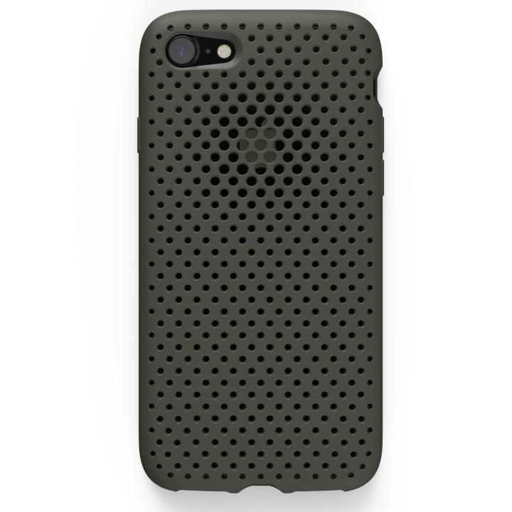 【iPhone8/7ケース】エラストマー AndMesh MESH CASE オリーブ iPhone 8/7ケース_0