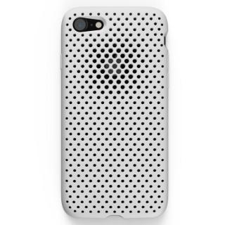 エラストマー AndMesh MESH CASE ホワイト iPhone 7ケース【12月中旬】