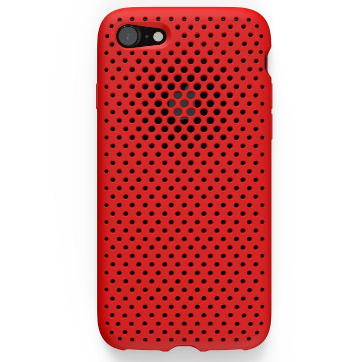 iPhone8/7 ケース エラストマー AndMesh MESH CASE レッド iPhone 8/7ケース_0