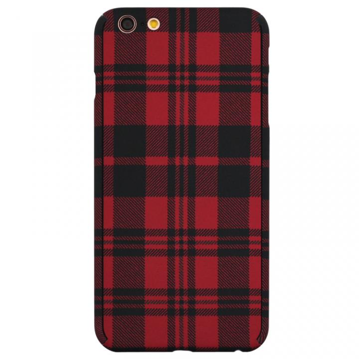 ZENDO Nano Skin チェックレッド iPhone 6s Plus/6 Plus