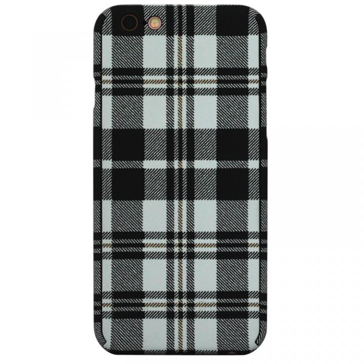 iPhone6s/6 ケース ZENDO Nano Skin チェックホワイト iPhone 6s/6_0
