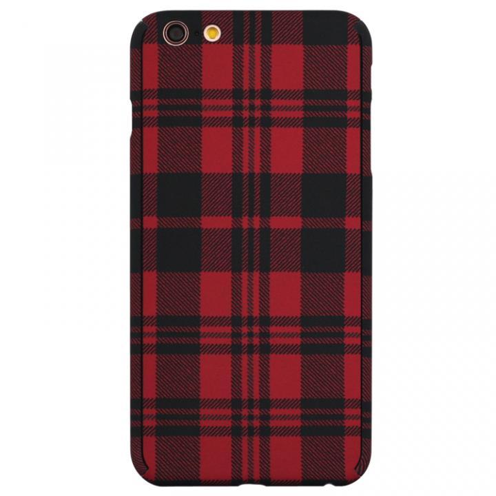 【iPhone6s/6ケース】ZENDO Nano Skin チェックレッド iPhone 6s/6_0
