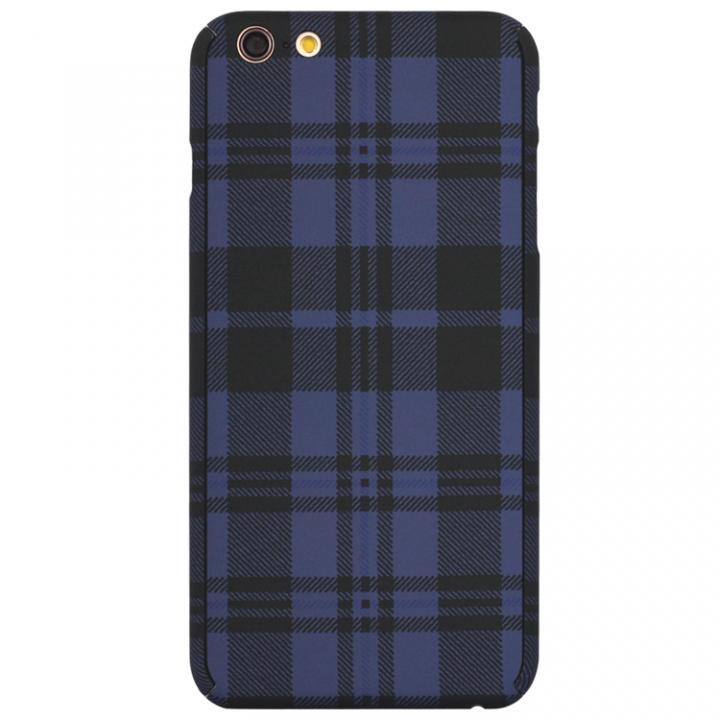 【iPhone6s Plus/6 Plusケース】ZENDO Nano Skin チェックブルー iPhone 6s Plus/6 Plus_0