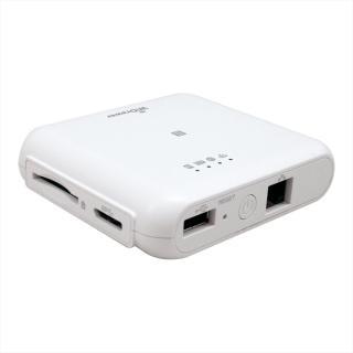 Wi-Fi SDカードリーダー 5GHz 433Mbpsモデル ホワイト