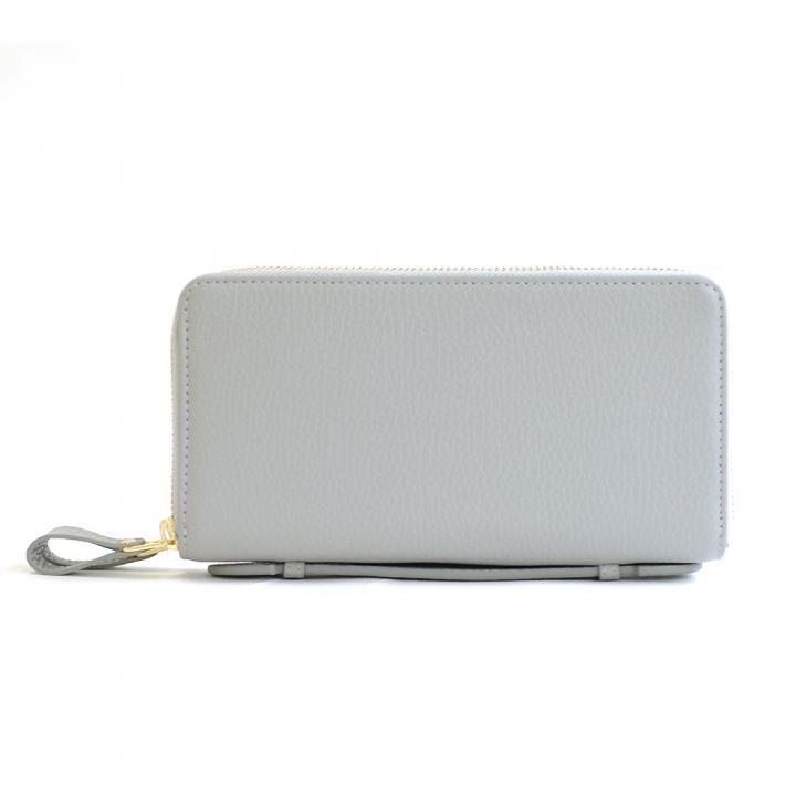 カード39枚 大容量で最大限コンパクトな設計ジャバラ式カードケース 長財布 Plog(プログ) グレイ【12月下旬】_0
