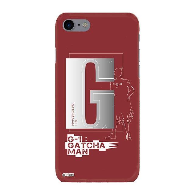 iPhone8 ケース インフィニティフォース ガッチャマン イニシャルデザイン  ハードケース iPhone 8_0
