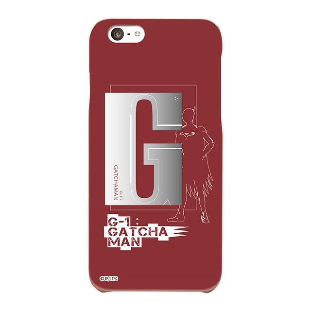 iPhone6s/6 ケース インフィニティフォース ガッチャマン イニシャルデザイン  ハードケース iPhone 6s/6_0