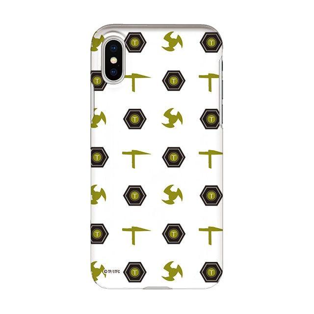 iPhone X ケース インフィニティフォース テッカマン エンブレム柄デザイン ハードケース iPhone X_0