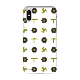 インフィニティフォース テッカマン エンブレム柄デザイン ハードケース iPhone X