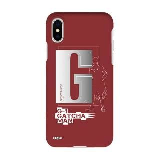 インフィニティフォース ガッチャマン イニシャルデザイン  ハードケース iPhone X