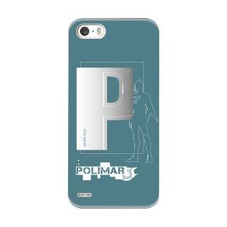 インフィニティフォース ポリマー イニシャルデザイン  ハードケース iPhone SE