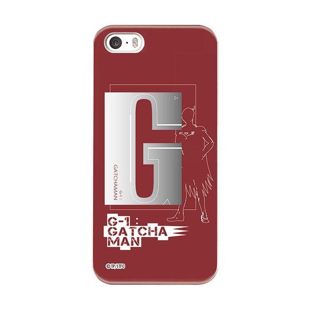 iPhone SE ケース インフィニティフォース ガッチャマン イニシャルデザイン  ハードケース iPhone SE_0