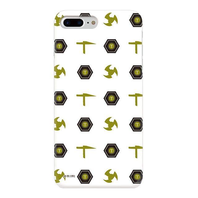 iPhone8 Plus ケース インフィニティフォース テッカマン エンブレム柄デザイン ハードケース iPhone 8 Plus_0