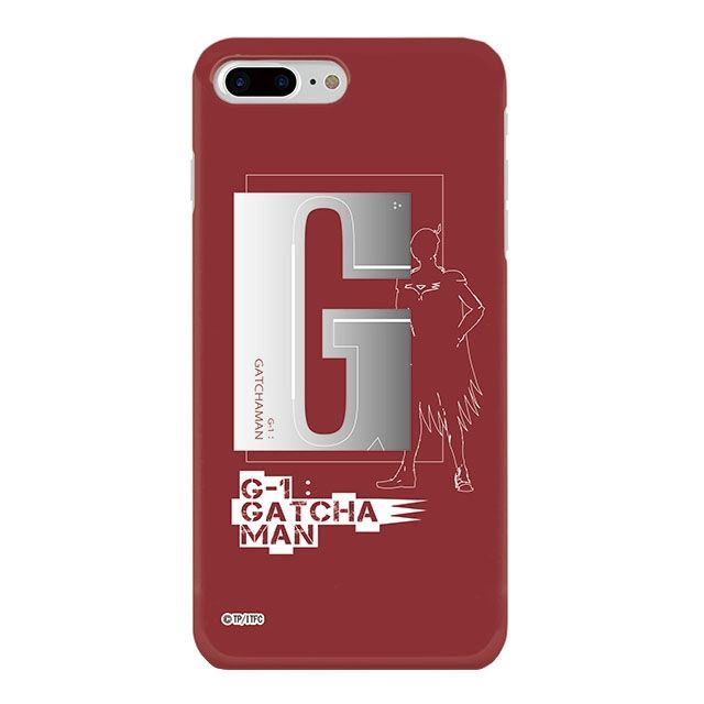 iPhone8 Plus ケース インフィニティフォース ガッチャマン イニシャルデザイン  ハードケース iPhone 8 Plus_0