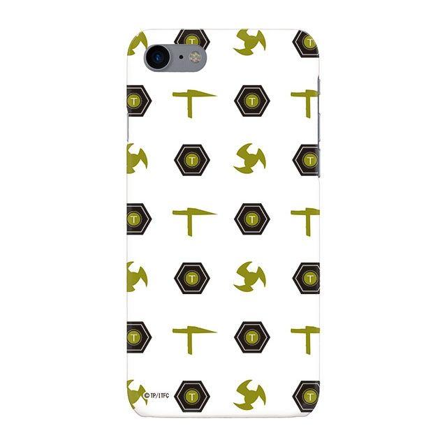 iPhone8 ケース インフィニティフォース テッカマン エンブレム柄デザイン ハードケース iPhone 8_0