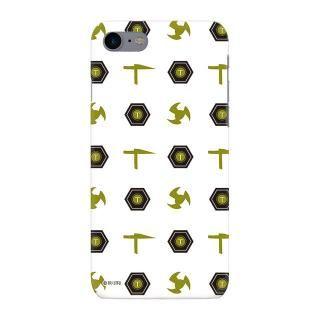 インフィニティフォース テッカマン エンブレム柄デザイン ハードケース iPhone 8