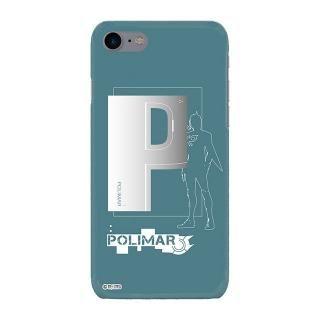 インフィニティフォース ポリマー イニシャルデザイン  ハードケース iPhone 8