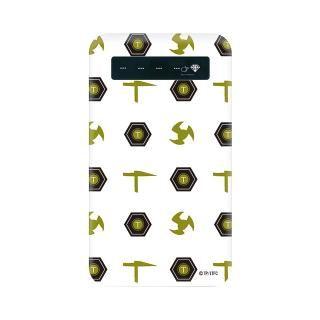 インフィニティフォース テッカマン エンブレム柄デザイン モバイルバッテリー