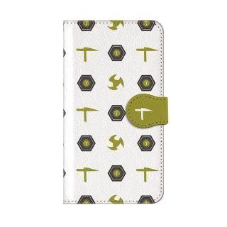 インフィニティフォース テッカマン エンブレム柄デザイン 手帳型ケース iPhone X