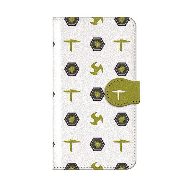 iPhone8 Plus ケース インフィニティフォース テッカマン エンブレム柄デザイン 手帳型ケース iPhone 8 Plus_0