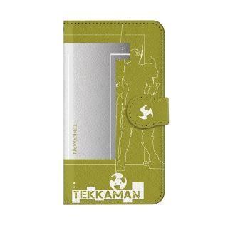 インフィニティフォース テッカマン イニシャルデザイン  手帳型ケース iPhone 8