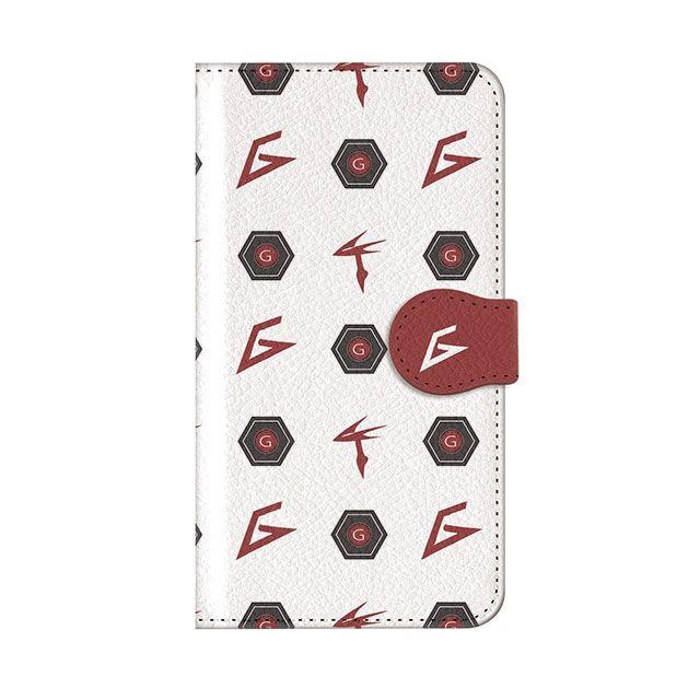 iPhone7 ケース インフィニティフォース ガッチャマン エンブレム柄デザイン 手帳型ケース iPhone 7_0