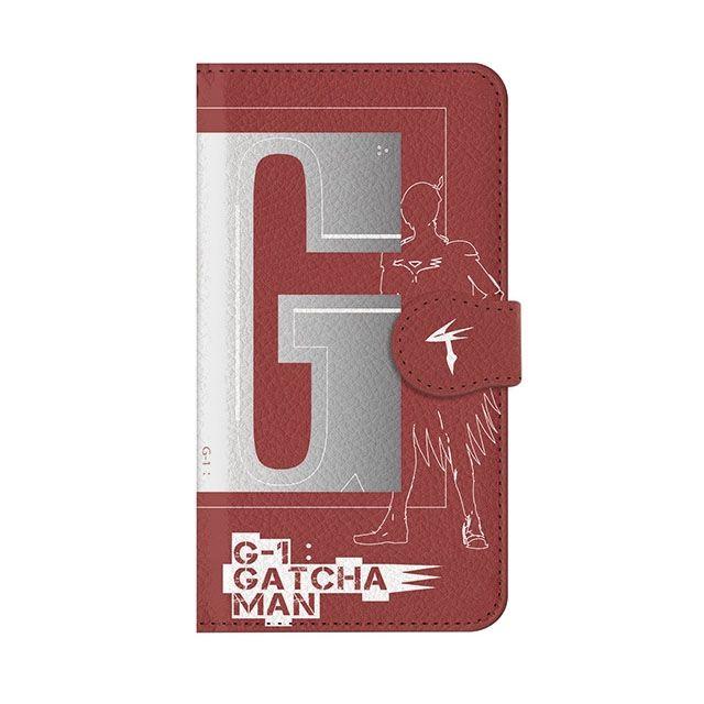 【iPhone6s/6ケース】インフィニティフォース ガッチャマン イニシャルデザイン  手帳型ケース iPhone 6s/6_0