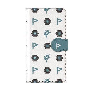 インフィニティフォース ポリマー エンブレム柄デザイン 手帳型ケース iPhone X