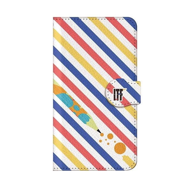 iPhone8 Plus ケース インフィニティフォース ヒロイン・界堂笑  ケースボーダー 手帳型ケース iPhone 8 Plus_0