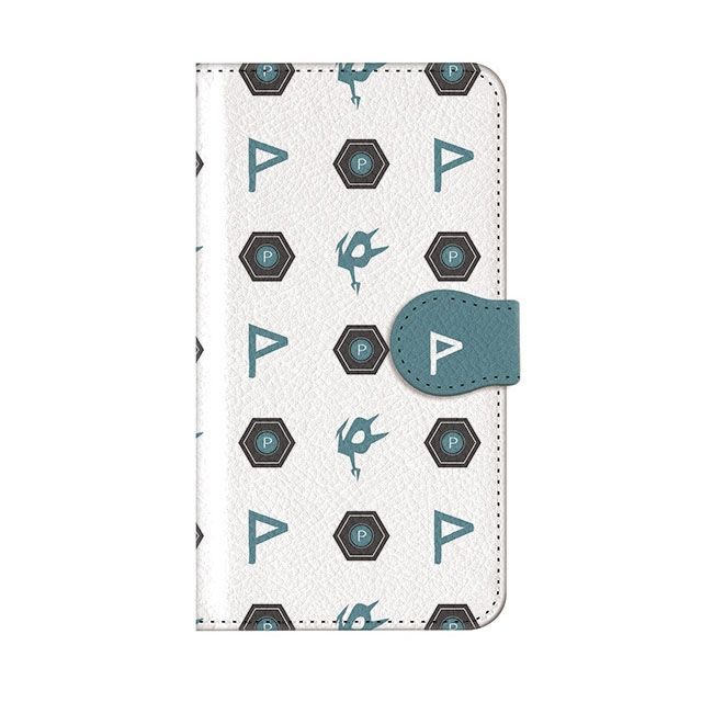 iPhone8 Plus ケース インフィニティフォース ポリマー エンブレム柄デザイン 手帳型ケース iPhone 8 Plus_0