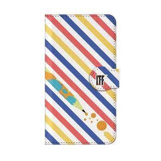 インフィニティフォース ヒロイン・界堂笑  ケースボーダー 手帳型ケース iPhone 8