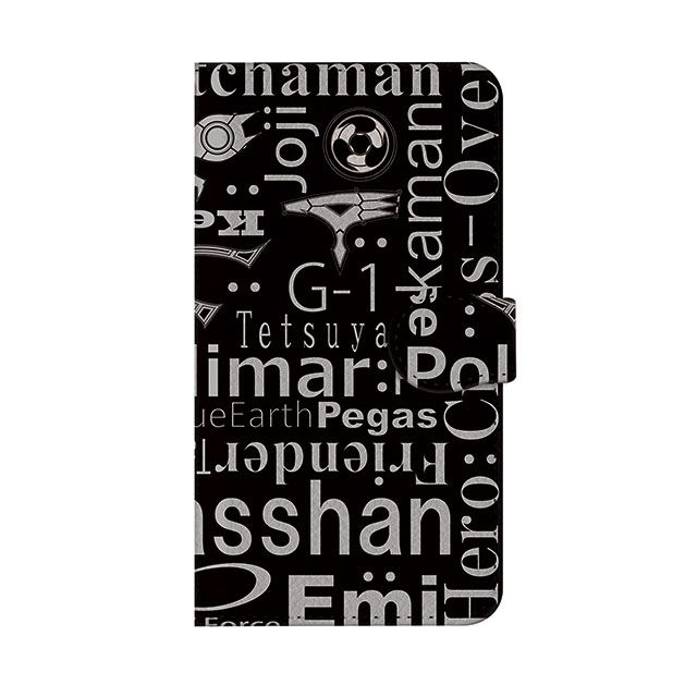 【iPhone6s/6ケース】インフィニティフォース ブラック 手帳型ケース iPhone 6s/6_0