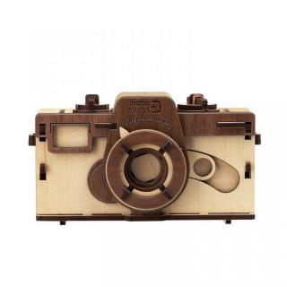 天然木の組み立てキット ピンホールカメラ/M