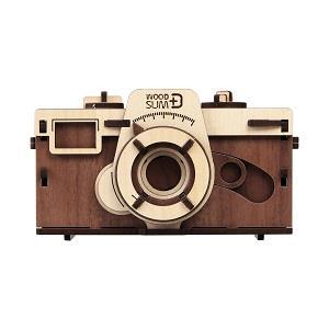 天然木の組み立てキット ピンホールカメラ/W