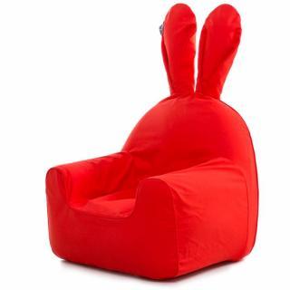 うさぎ型エアーソファー「Rabito Chair」 S/レッド