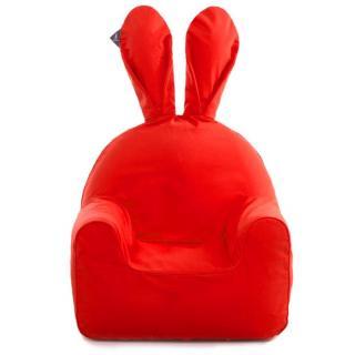 うさぎ型エアーソファー「Rabito Chair」 S/レッド_1