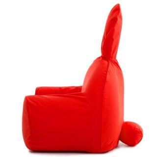 うさぎ型エアーソファー「Rabito Chair」 S/レッド_3
